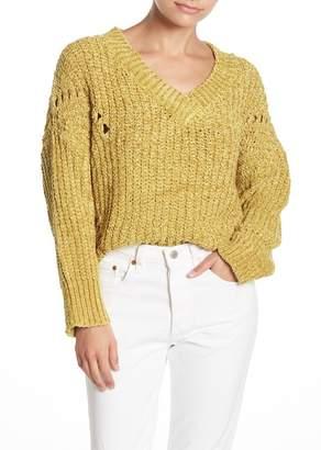Raga Kori Distressed Chenille Pullover Sweater