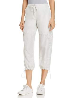 Theory Silk Cargo Pants