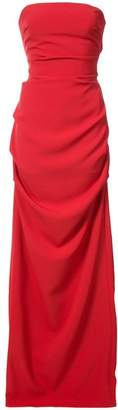 Nicole Miller Felicity strapless gown