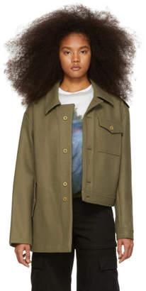 Gosha Rubchinskiy Green Hybrid Jacket