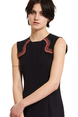 Opening Ceremony Embroidered Lotus Dress