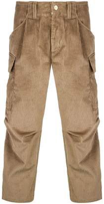 Lc23 corduroy cargo trousers