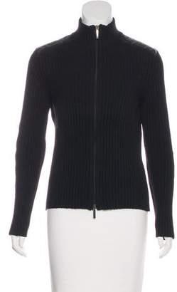 Burberry Merino Wool Nova Check-Paneled Sweater