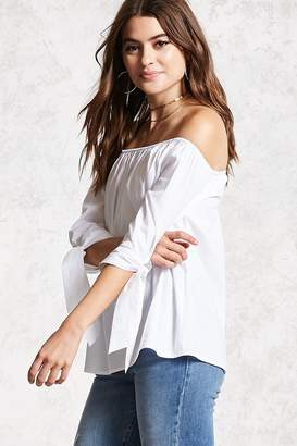Forever 21 Contemporary Knotted Top