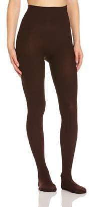 Scala Women's Plain unicolor Shapewear Leggings Brown Marron (Brown) (Brand size :Manufacturer size)