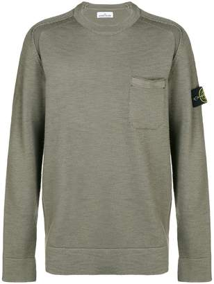 Stone Island pocket detail sweater