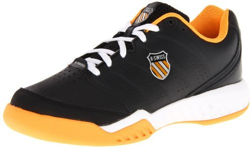 K-Swiss Men's Ultrascendor II Tennis Shoe,Black,10 M US