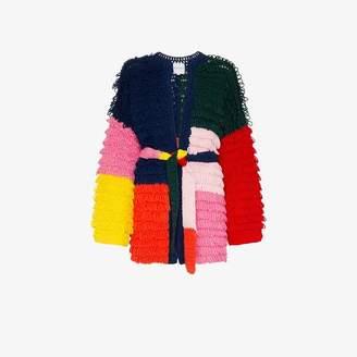 Mira Mikati knit patchwork cardigan