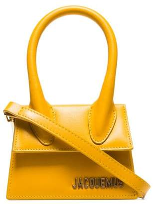 Jacquemus Yellow Mini Chiquito shoulder bag