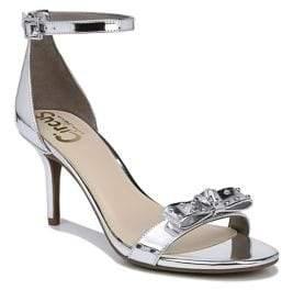 Sam Edelman Pandora Metallic Ankle Strap Sandals