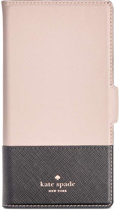 Kate Spade Magnetic Wrap iPhone X Plus Folio Case