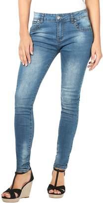 KRISP Crushed Denim Jeans, (Blue, US 10), [5333-BLU-14]