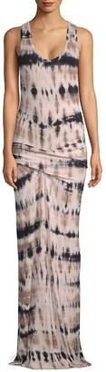 Young Fabulous & Broke Women's Hampton Abstract-Print Maxi Dress