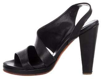 Rachel Comey Leather Slingback Sandals