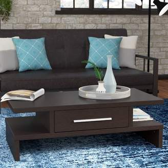Zipcode Design Wylie Rectangular 1 Drawer Coffee Table