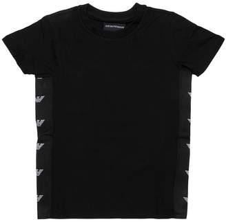 Giorgio Armani Black Cotton T