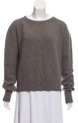 The Elder Statesman Cashmere Lightweight Knit Sweater