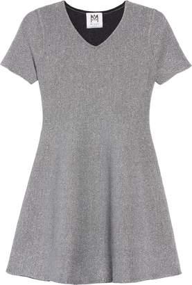 Milly Minis Metallic Skater Dress