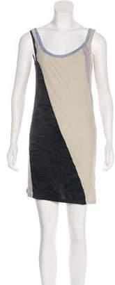 Nina Ricci Colorblock Sleeveless Dress