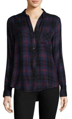 Rails Hunter Plaid-Print Shirt