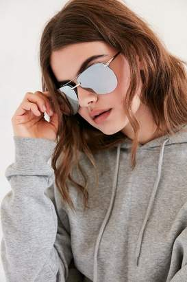 Quay The Playa Aviator Sunglasses $60 thestylecure.com