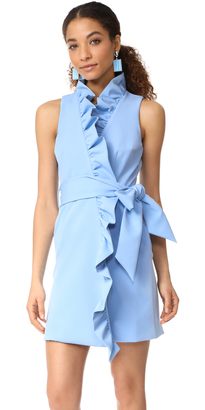 Milly Ruffle Front Dress $475 thestylecure.com