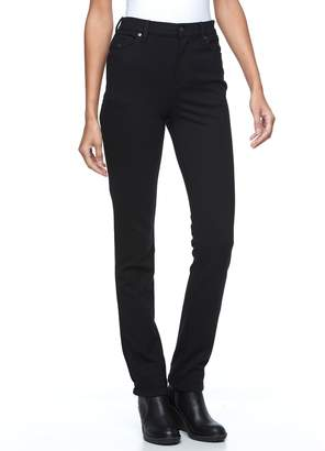 Gloria Vanderbilt Petite Amanda Slimming Tapered Ponte Pants