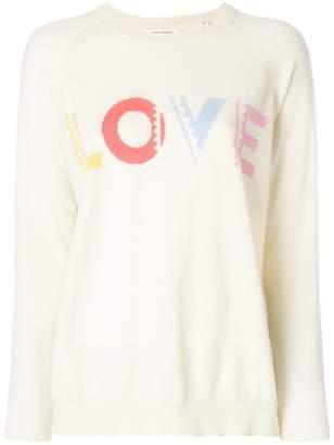 Parker Chinti & geometric love sweater