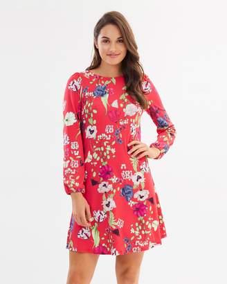 Wallis Petal Oriental Swing Dress