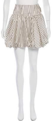 Monse Striped Bubble Skirt