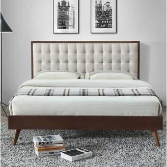 Corrigan Studio Abril Queen Upholstered Platform Bed