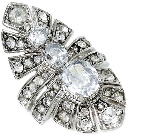Juicy Couture Large Stone Ring