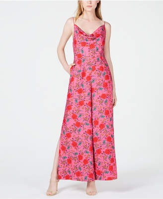Finders Keepers Hana Floral-Print Cowl-Neck Jumpsuit