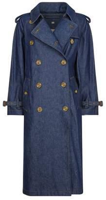 Burberry Eastheath Denim Trench Coat