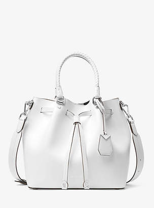 Michael Kors Blakely Leather Bucket Bag