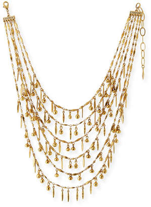 Sequin Multilayer Statement Necklace