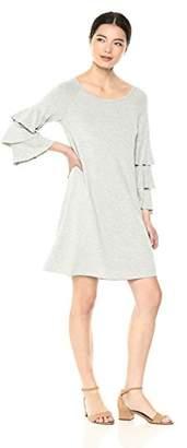 Bailey 44 Women's Dovetail Tiered Sleeve Fleece Dress