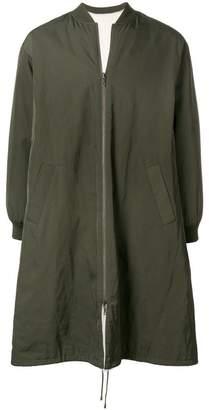 Liska reversible bomber coat