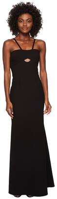 Jill Stuart Elastane Gown with Cut Outs Women's Dress