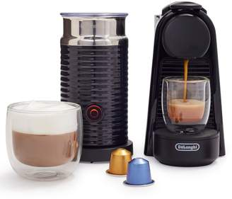 Nespresso Essenza Mini Espresso Machine by DeLonghi with Aeroccino3 Frother