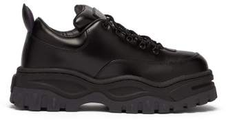 Eytys Angel Chunky Leather Trainers - Mens - Black