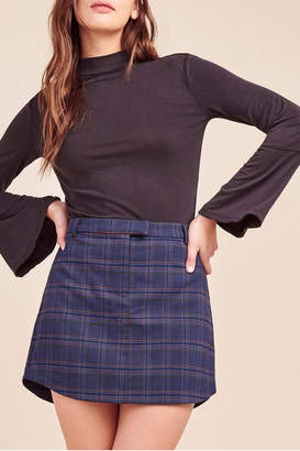 BB Dakota Detention Plaid Skirt