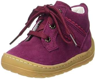 Superfit Baby Girls' Saturn Walking Baby Shoes red Size: 5.5UK Child