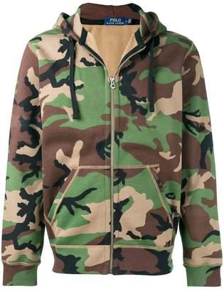 Polo Ralph Lauren camouflage zip hoodie