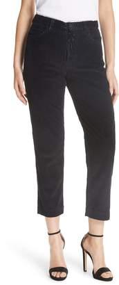 GRLFRND Helena Straight Leg Corduroy Pants