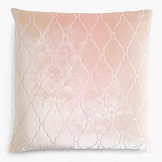 Kevin OBrien Kevin O'Brien Arches Velvet Pillow Blush