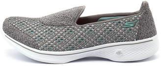 Skechers 14145 go walk 4-kindle slip on Black-black Sneakers Womens Shoes Active Active Sneakers