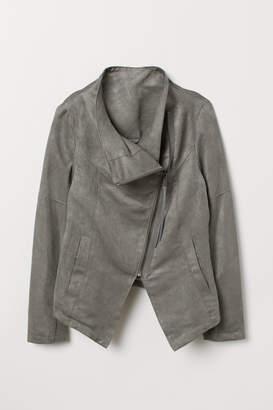 H&M Biker Jacket - Gray