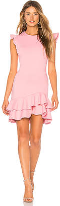 Susana Monaco Sleeveless Ruffle Hem Dress 16-19
