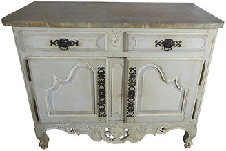 One Kings Lane Vintage Early 19th C. Painted French Sideboard
